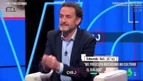 Edmundo Bal, durante su intervención en el programa 'El objetivo' de La Sexta.