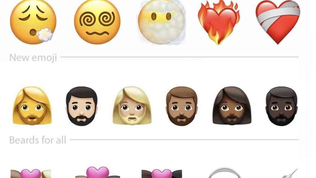 Nuevos emoji en iOS 14.5