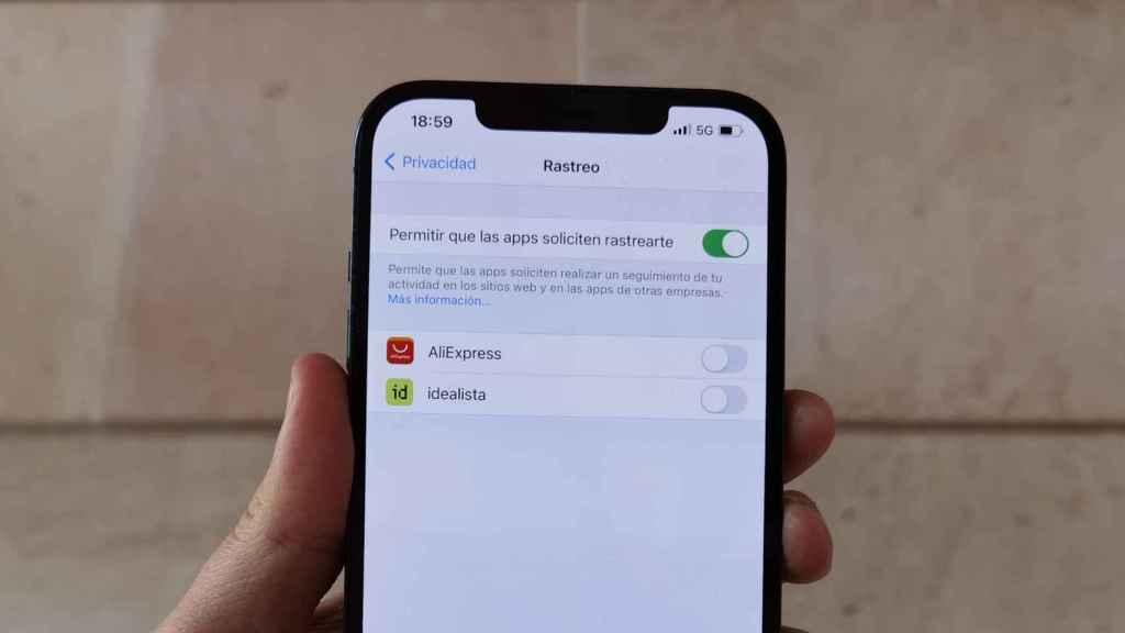 El nuevo iOS 14.5 permite bloquear el rastreo de las aplicaciones