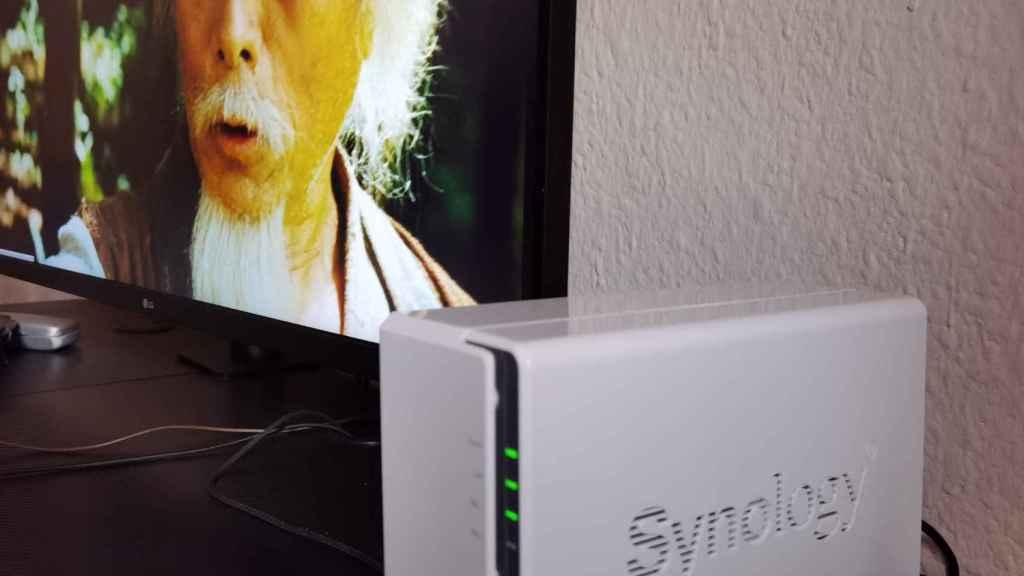 Un NAS de almacenamiento de Synology se puede convertir en un servidor multimedia