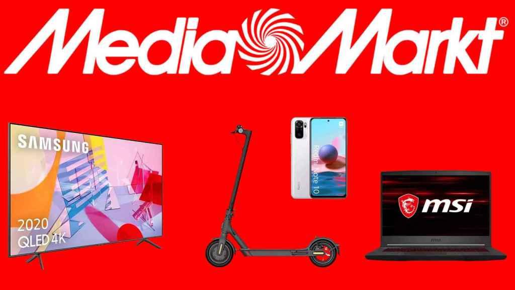 Media Markt celebra el Día sin IVA con chollos en electrónica.