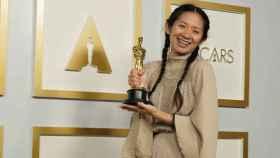 Chloé Zhao, ganadora del Óscar a la mejor dirección.