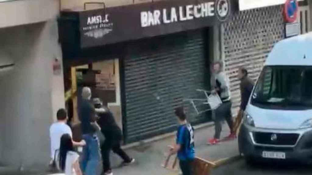 Captura del vídeo que se ha hecho viral.