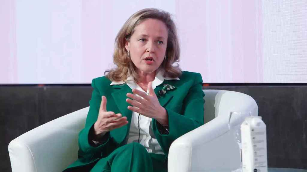 La vicepresidenta tercera y presidenta del Consejo Asesor de Inteligencia Artificial, Nadia Calviño.