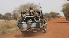 Militares de Burkina Faso en una imagen de archivo.