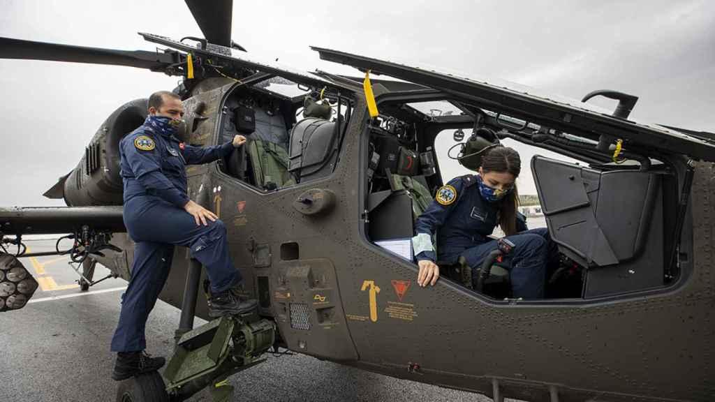 Helicóptero de la policía turca