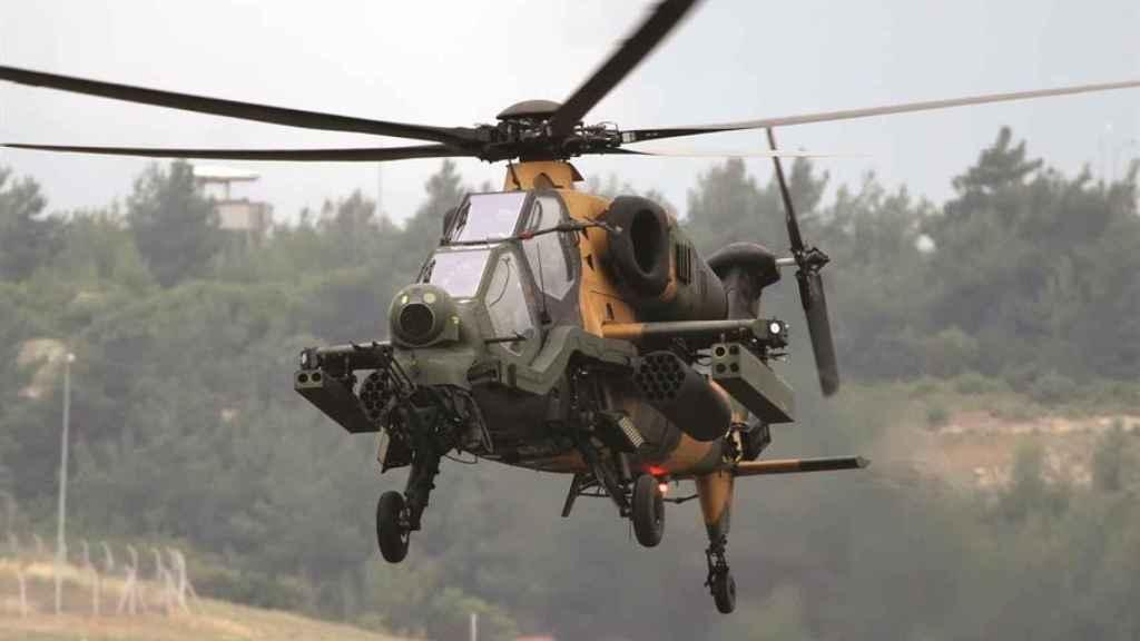 Helicóptero de ataque T129 del Ejército de Turquía