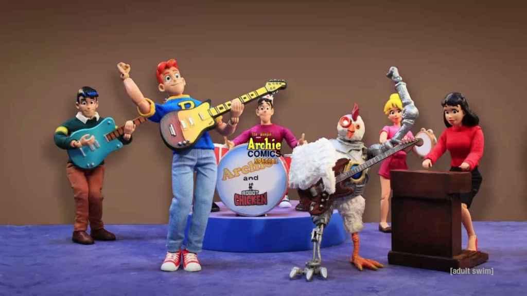 Nuevo especial de 'Robot Chicken'.