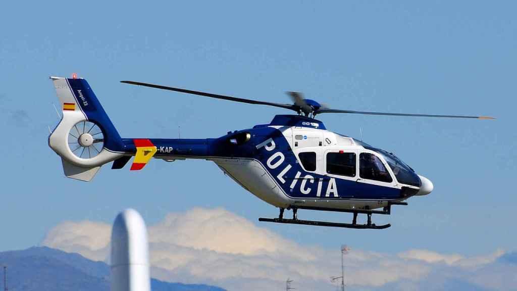 Helicóptero de Policía Nacional