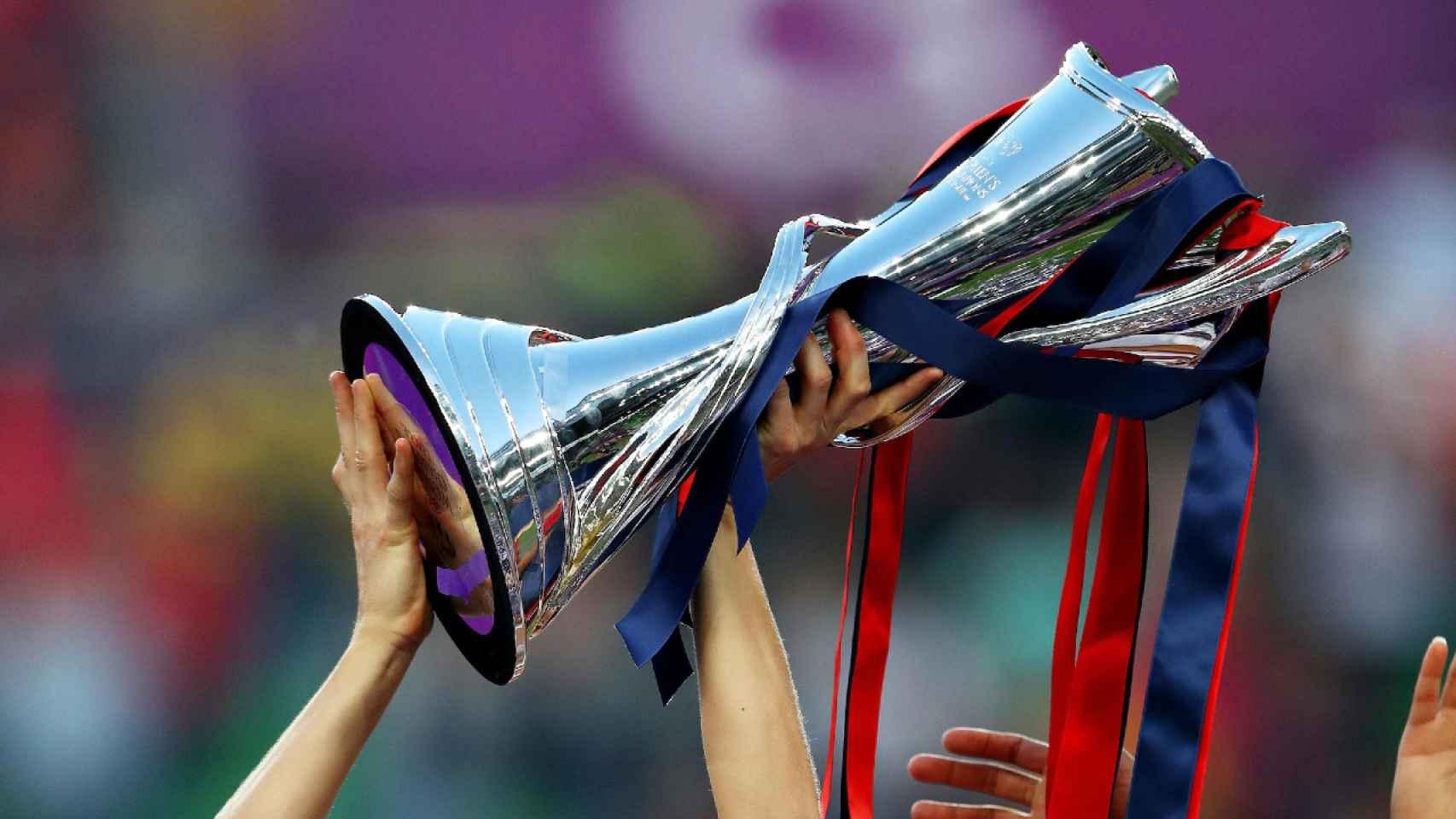 El título de la UEFA Women's Champions League