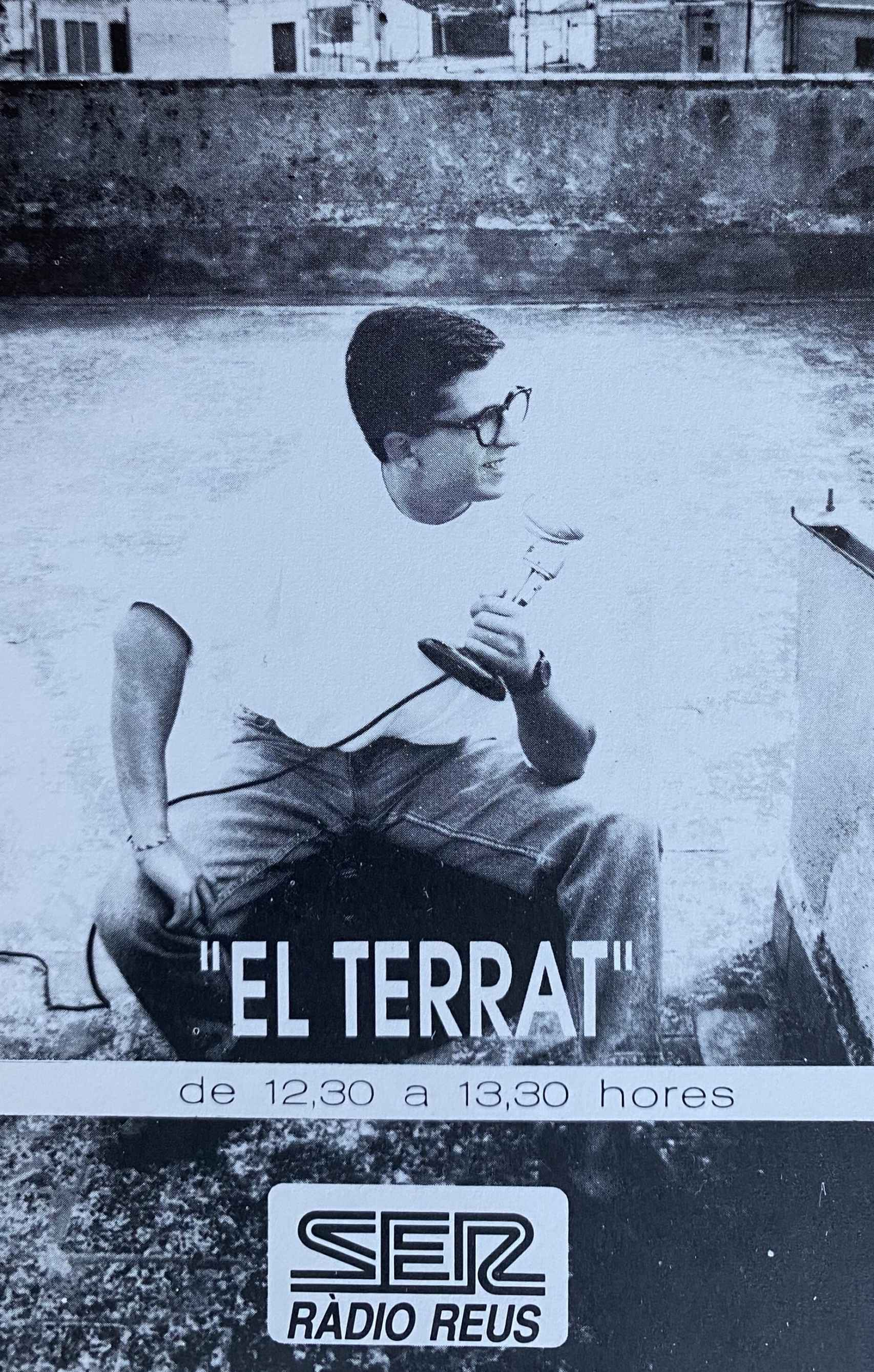 Andreu Buenafuente en el anuncio de su primer programa.