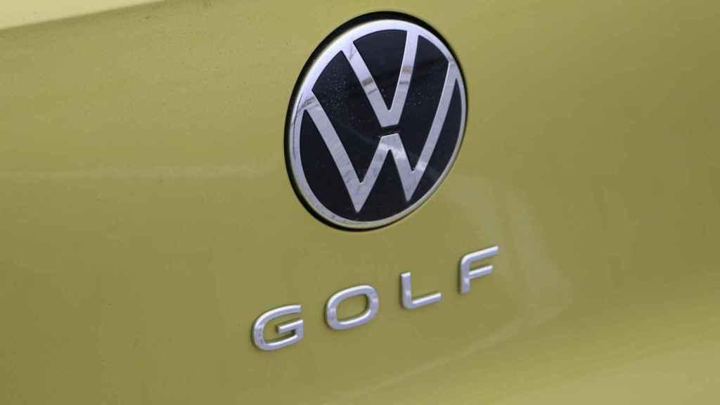 Imagen de la zaga del Volkswagen Golf.