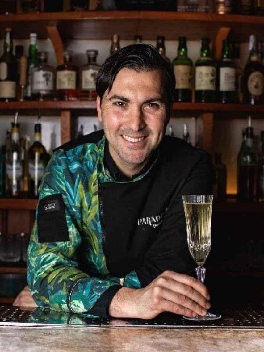Giacomo Giannotti, bartender