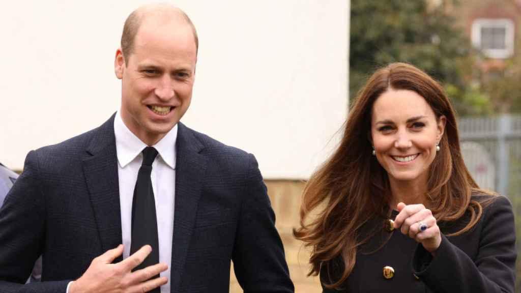 El príncipe Guillermo y Kate Middleton, durante un acto reciente en Londres.