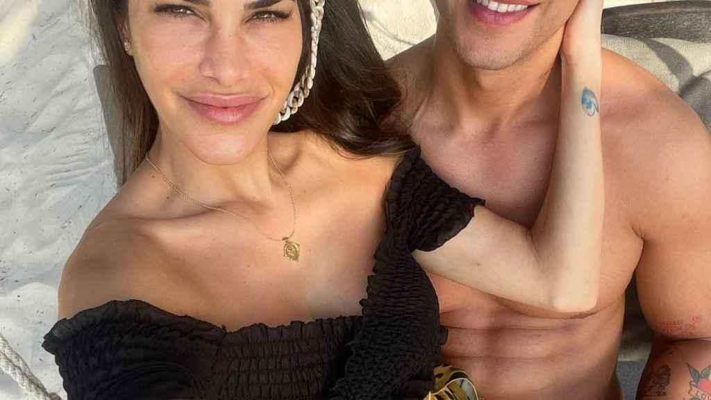 Diego Matamoros y Carla Barber en una imagen de sus últimas vacaciones.