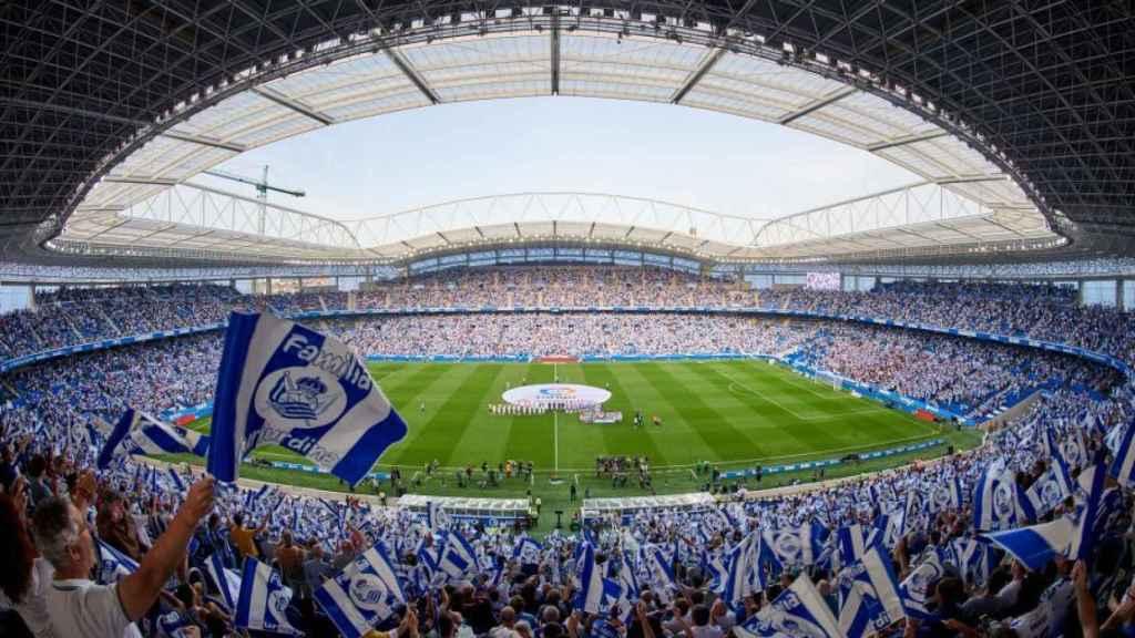 El Reale Arena, el estadio de la Real Sociedad