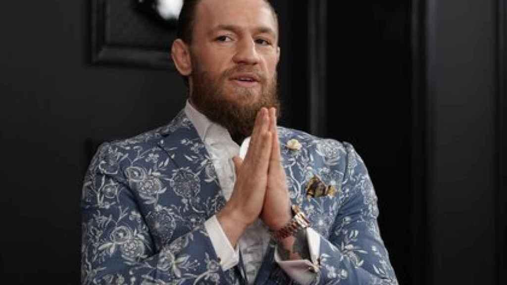 Conor McGregor, luchador irlandés de las MMA