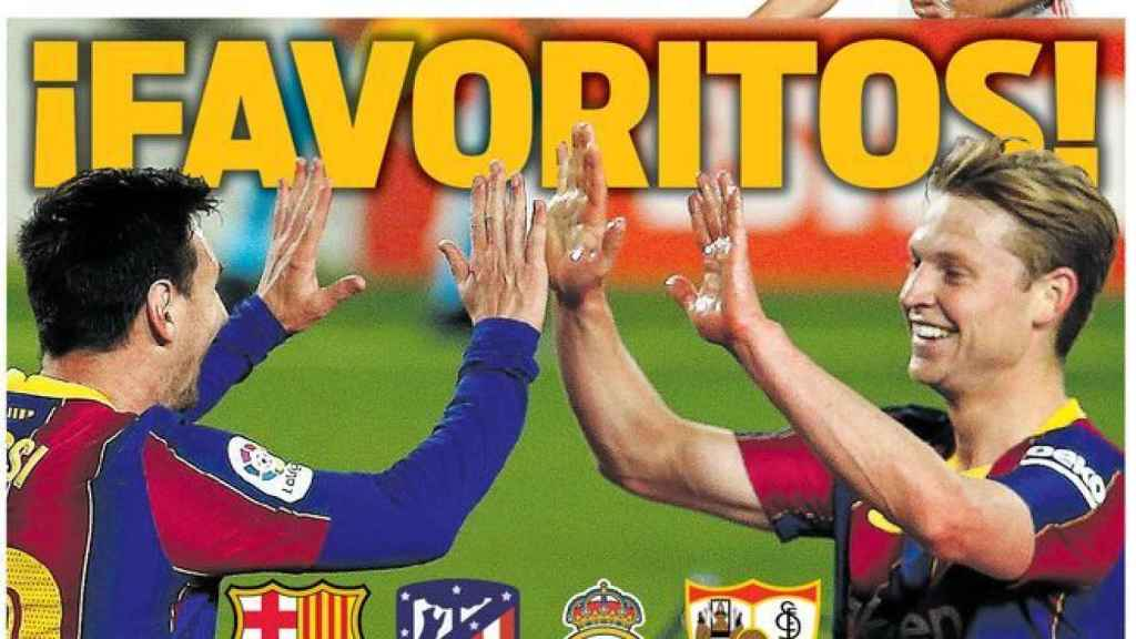 Portada Sport (27/04/21)