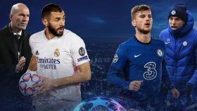 Real Madrid y Chelsea