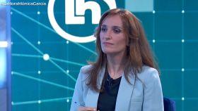 Mónica García, candidata de Más Madrid a la Presidencia de la Comunidad de Madrid, en TVE.