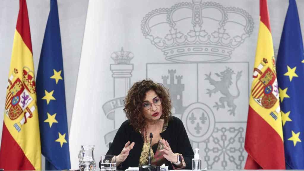 María Jesús Montero, ministra de Hacienda. (E. Parra. POOL / EP)