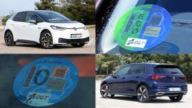 La oferta de coches actuales es muy amplia y con diferentes etiquetas de la DGT.