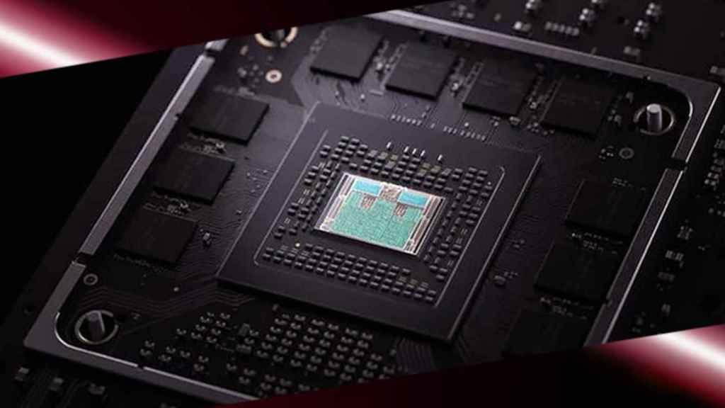 El AMD 4700S en una imagen promocional