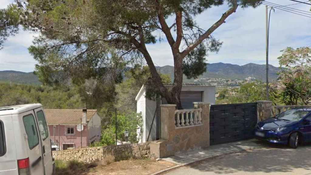 El lugar de los hechos en la urbanización Can Gordey de La Bisbal del Panadés (Tarragona).