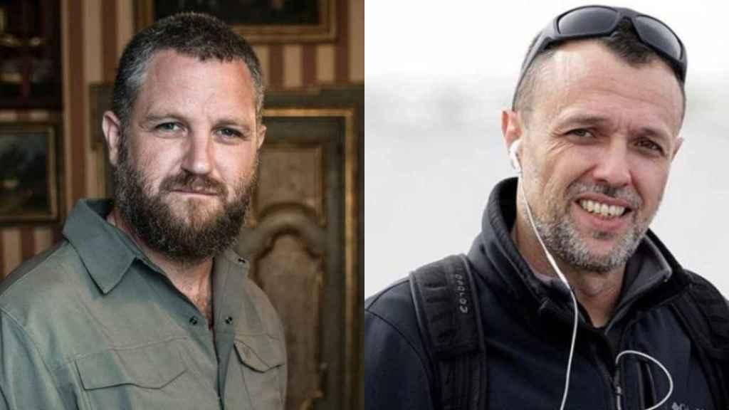 David Beriáin y Roberto Fraile.
