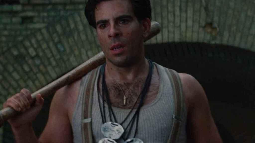 Eli Roth como actor en 'Malditos Bastardos'.