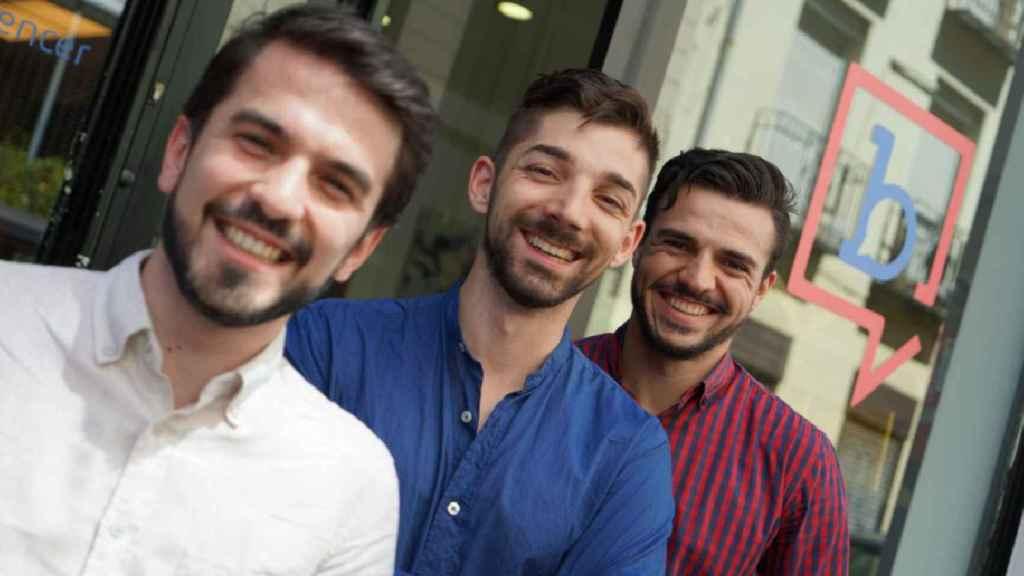 Los fundadores de Binfluencer.
