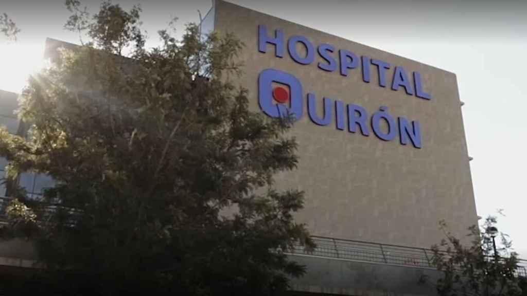 El hospital de Málaga donde ingresó David.