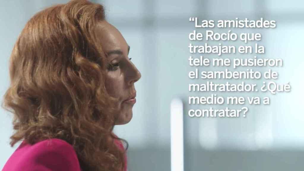 Rocío Carrasco durante la narración de ese 27 de julio.