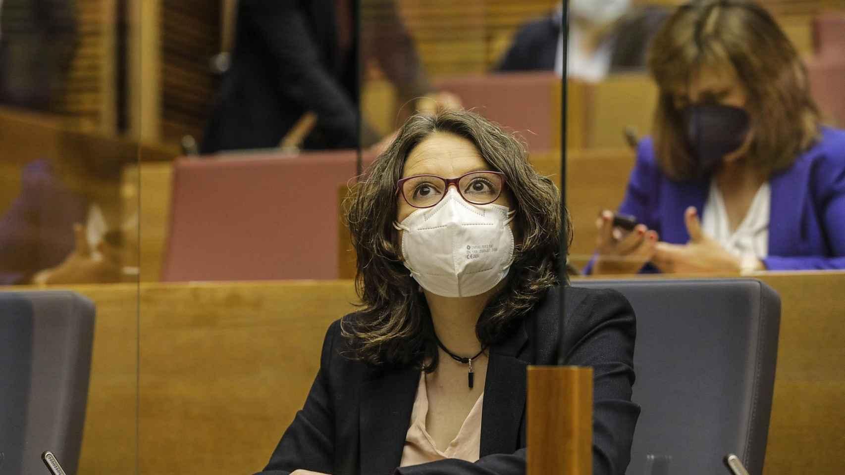 La vicepresidenta Mónica Oltra.