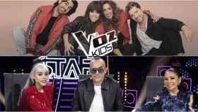 'La Voz Kids' y 'Top Star': ¿la próxima gran batalla televisiva?