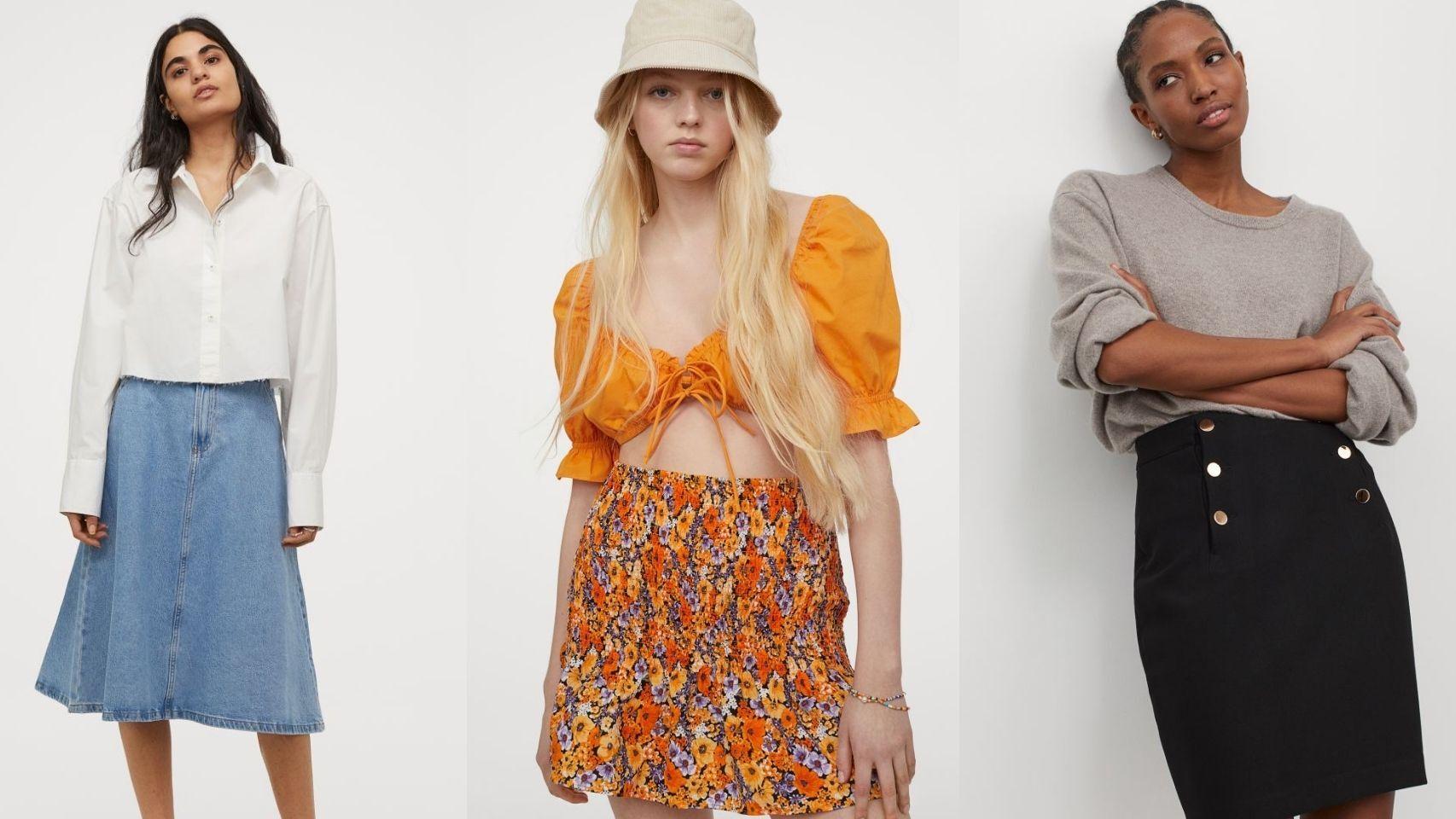 H&M tiene las faldas más primaverales de la temporada.
