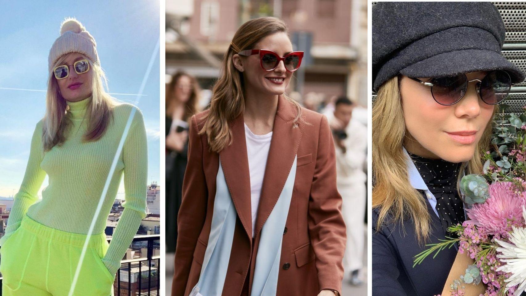 Gafas de sol: el accesorio con aire 'vintage' favorito de las 'celebrities'.