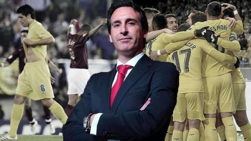 Emery y el Villarreal en Europa