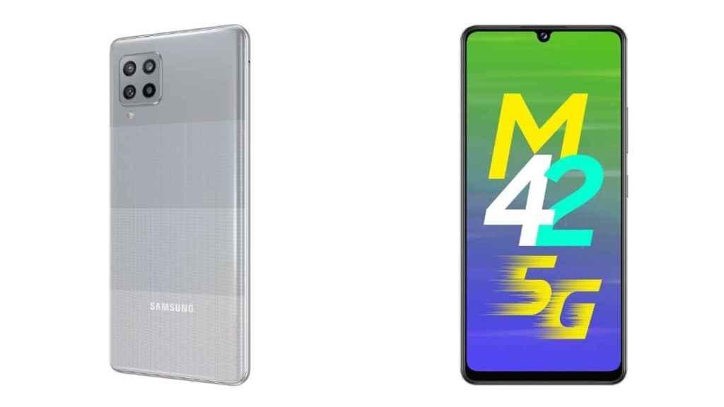 Galaxy M42 5G diseño