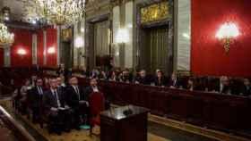 Juicio a los promotores del proceso soberanista catalán en el Tribunal Supremo./