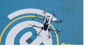 Uno de los drones de la multinacional china Ehang.