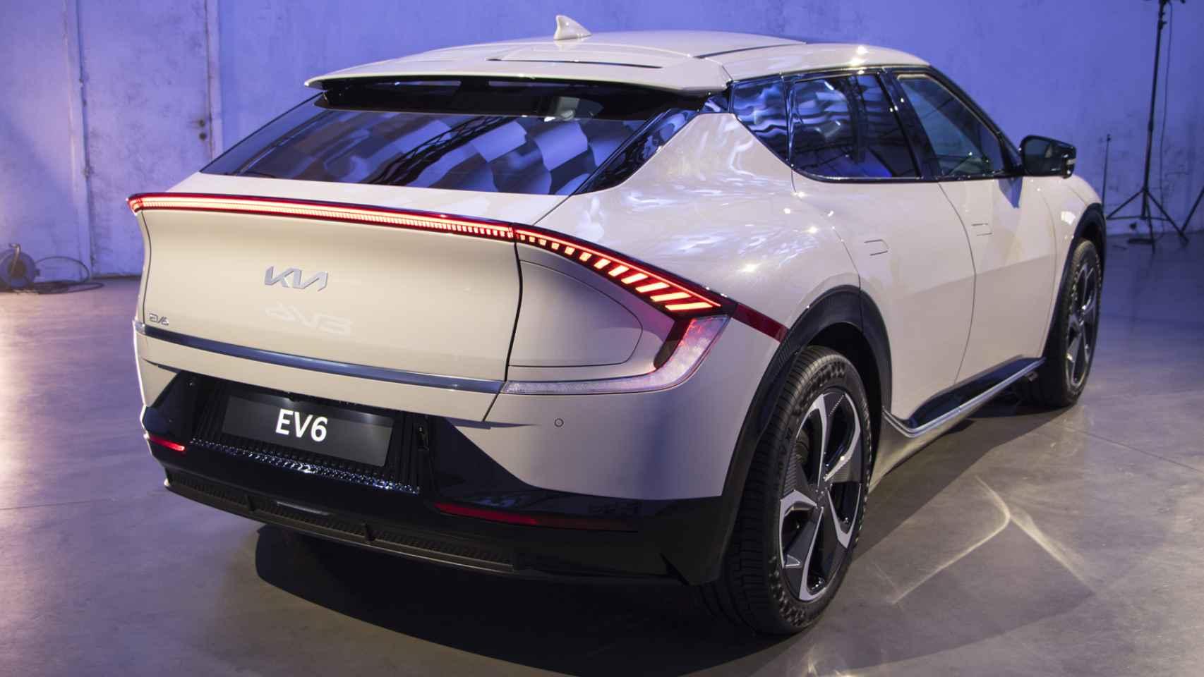 Galería de fotos del Kia EV6, un nuevo SUV eléctrico