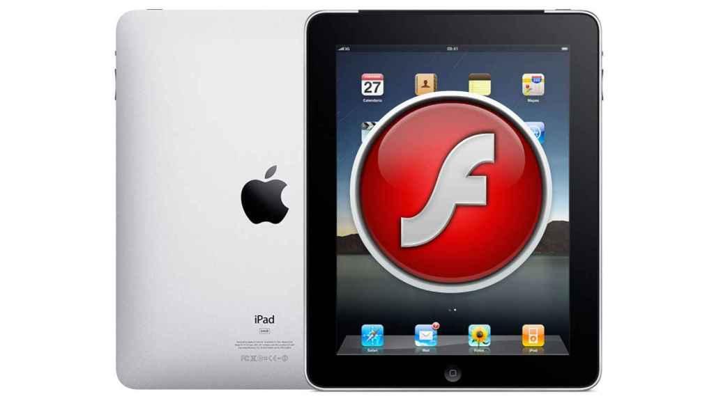 El iPad podría haber tenido soporte de Adobe Flash