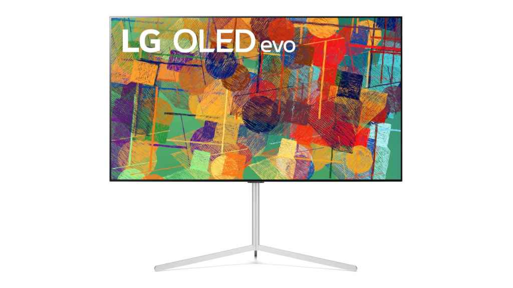 Nuevo televisor LG OLED evo.
