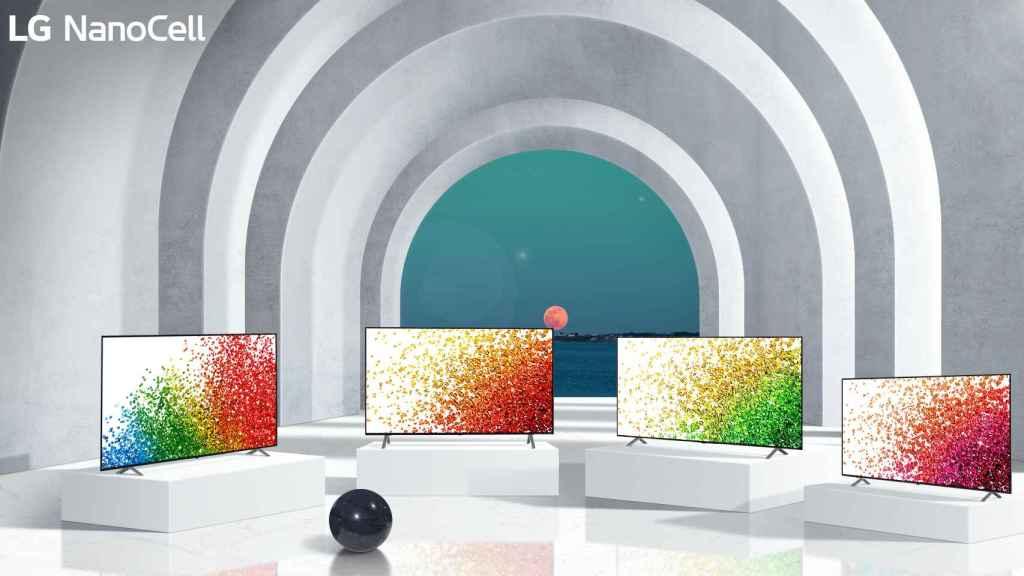 Nuevos televisores NanoCell de LG.