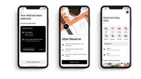 Uber actualiza su app con reservas y anuncia novedades para Uber Eats