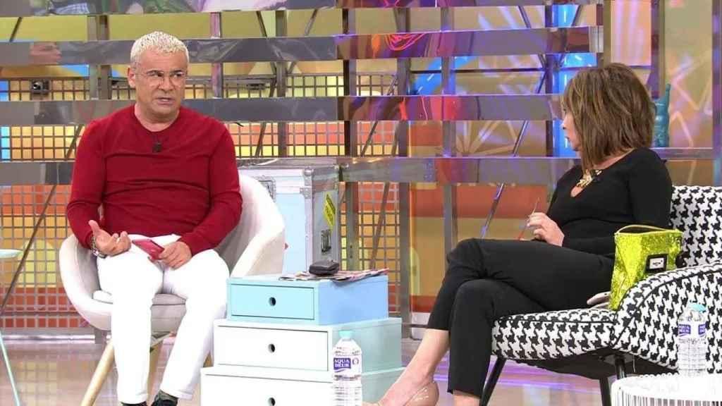Jorge Javier Vázquez, muy duro con María Patiño por el caso de Rocío Carrasco