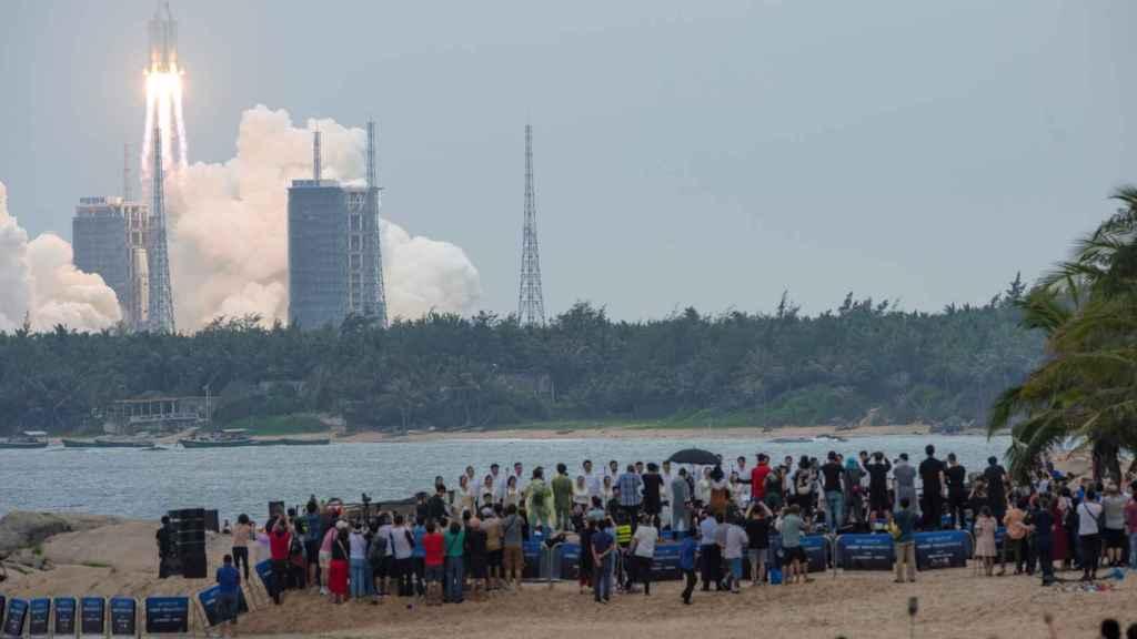 Lanzamiento cohete chino