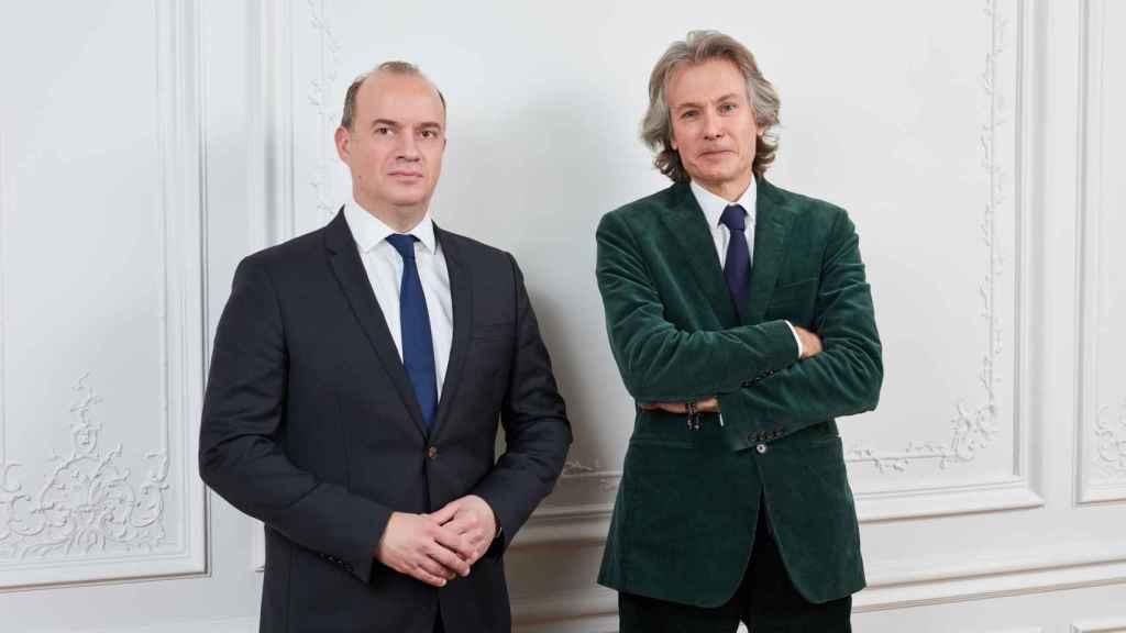 Cyrille Carrière y François Badelon.