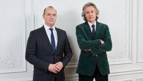 Cyrille Carrière y François Badelon, de Lonvia Capital.